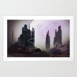// Shinra Corp Art Print