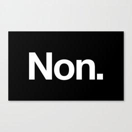 Non Canvas Print