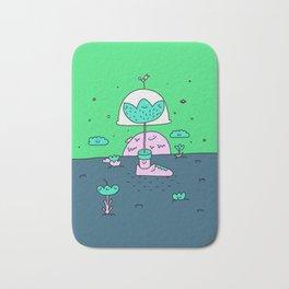 Flowerpot bob Bath Mat
