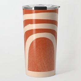 bronze rainbow Travel Mug