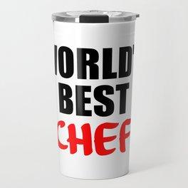 worlds best chef Travel Mug