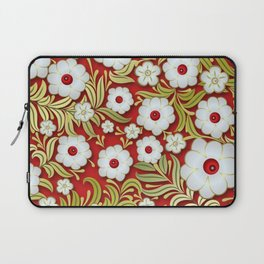 Art Flowers V3 Laptop Sleeve