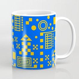Wonderland Blue Coffee Mug