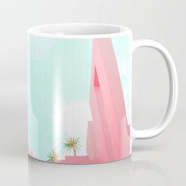 Pink Facade Moon Coffee Mug