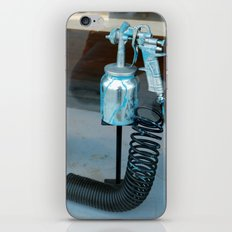 Spray painted iPhone & iPod Skin