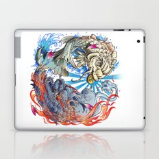 Water & Fire Laptop & iPad Skin