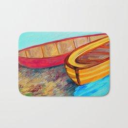 Boats in Waiting Bath Mat