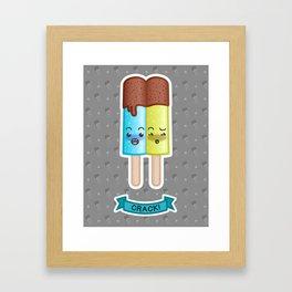CRACK! Framed Art Print
