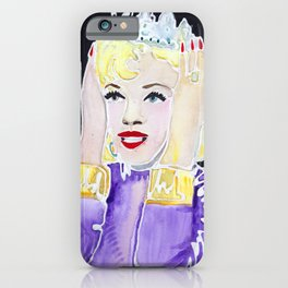 Diamonds are a Girl's Best Friend iPhone Case
