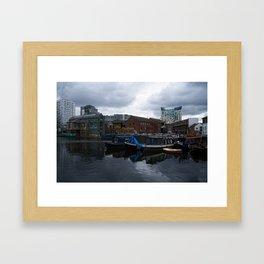Regency Wharf Birmingham Framed Art Print