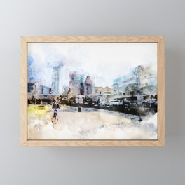 sketch the Hague 3 Framed Mini Art Print