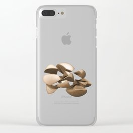 Make us whole again! Clear iPhone Case