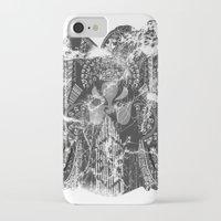 hawk iPhone & iPod Cases featuring Hawk by Kristian Boserup