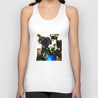 marley Tank Tops featuring Get Down Marley by LEEMARIE