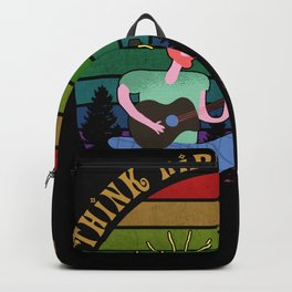 Think Hippie Thoughts Backpack
