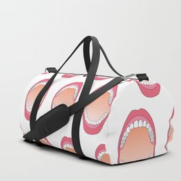 Teeth Duffle Bag