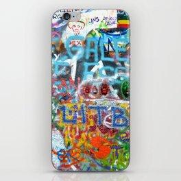 grafitti wall iPhone Skin