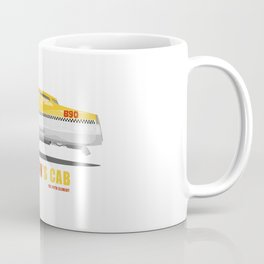 Korben's Cab (from The Fith Element Movie) Coffee Mug
