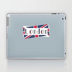 Home, Love, Illustration, Heart, london  Laptop & iPad Skin
