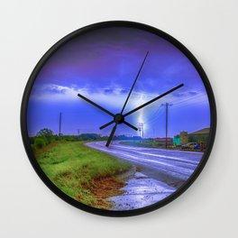 GODS ROAD Wall Clock