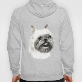 Brussels Griffon Drawing Hoody