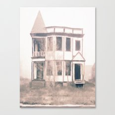 Detroit Abandoned House Canvas Print