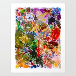 Lived In Colour Art Print