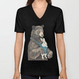 the bear au pair Unisex V-Neck