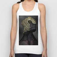 ripley Tank Tops featuring Ripley by Lowri W. Williams