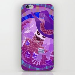 Negative Witch iPhone Skin