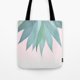 Delicate Agave Fringe Illustration Tote Bag