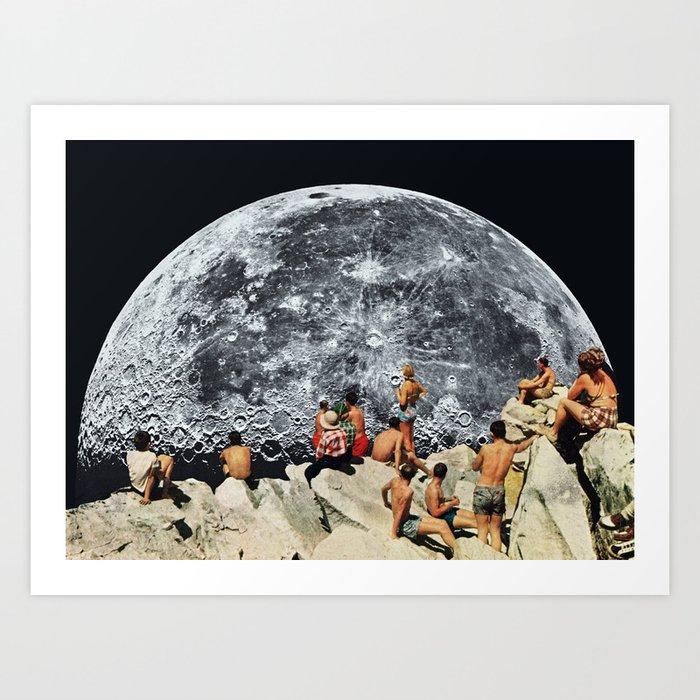 Entdecke jetzt das Motiv MOONRISE von Beth Hoeckel als Poster bei TOPPOSTER