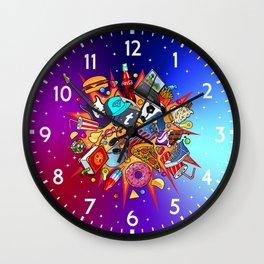 teenage explosion 2 Wall Clock