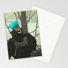 Uneasy Lies the Head That Wears the Holographic Crown Stationery Cards