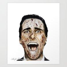 COLOURED PSYCHO Art Print