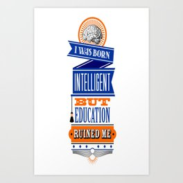 Education Art Print