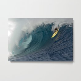 HAWAII'S KOHL CHRISTENSEN CLOUDBREAK Metal Print