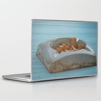 cigarettes Laptop & iPad Skins featuring Cigarettes  by Rovar
