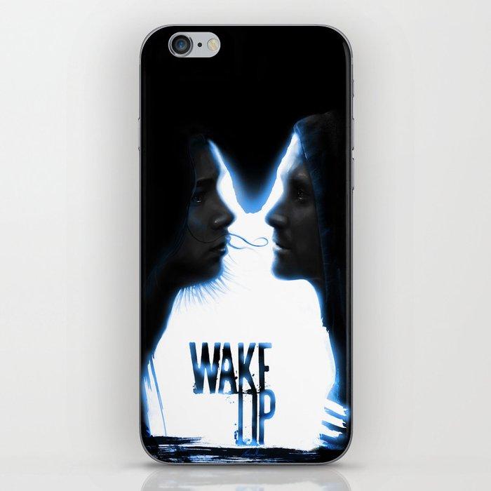 Wake up.....(Donnie Darko Fanart) iPhone Skin