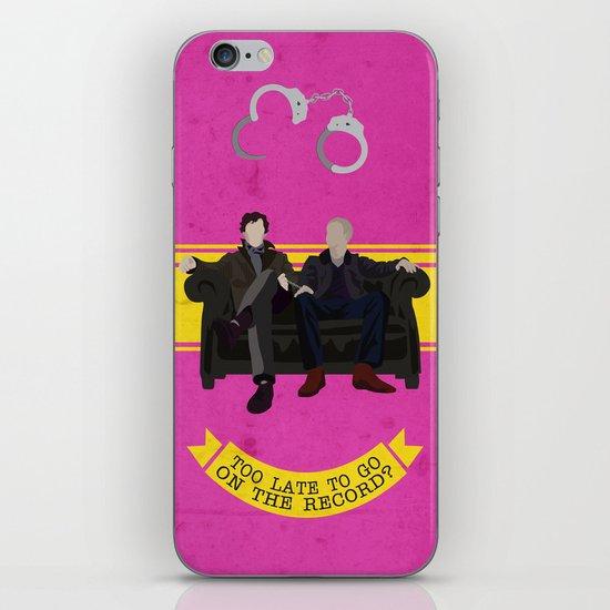 Too Late iPhone & iPod Skin