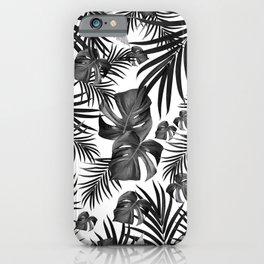 Tropical Jungle Leaves Pattern #10 (2020 Edition) #tropical #decor #art #society6 iPhone Case