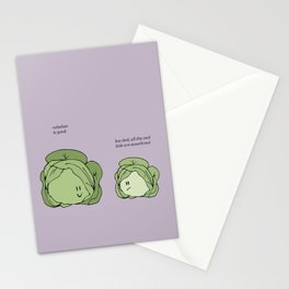 Sauerkraut Recipe Stationery Cards