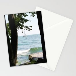 Sailboat on the Lake Stationery Cards