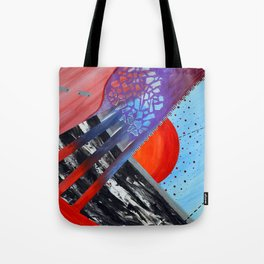 First Glimpse Tote Bag