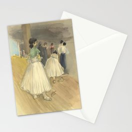 Dancers Waiting Stationery Cards