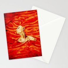 Caught on Fire Stationery Cards