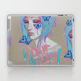 I Can't Sleep Laptop & iPad Skin