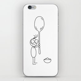 My Spoon is to Big iPhone Skin
