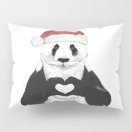Santa panda Pillow Sham