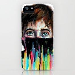 Fear won't leave me... iPhone Case